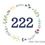 エンジェルナンバー222